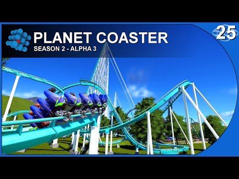 Planet Coaster - Alpha 3.5 - S02E25 - Roller Coaster Maintenance