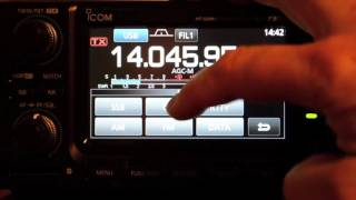 using the icom ic 7300