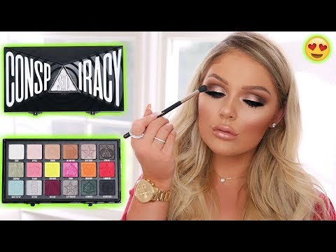 EVERYDAY MAKEUP TUTORIAL USING SHANE DAWSON x JEFFREE STAR CONSPIRACY PALETTE thumbnail