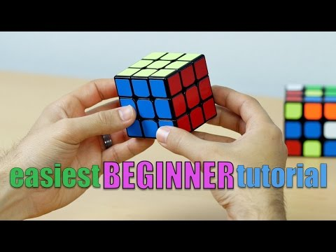 EASIEST WAY TO SOLVE THE RUBIK'S CUBE! (UPDATED 3x3x3 BEGINNER TUTORIAL)