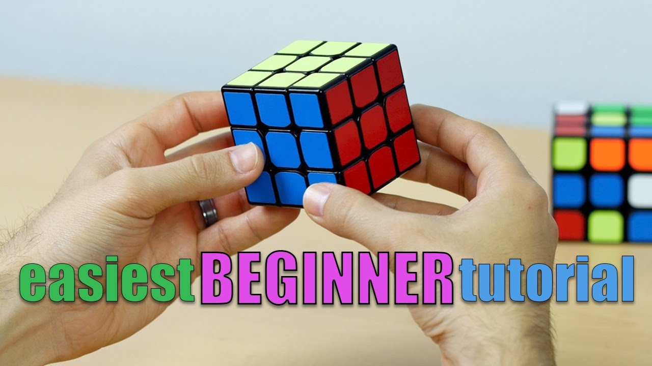8d0e9b52c57d EASIEST WAY TO SOLVE THE RUBIK S CUBE! (UPDATED 3x3x3 BEGINNER TUTORIAL)