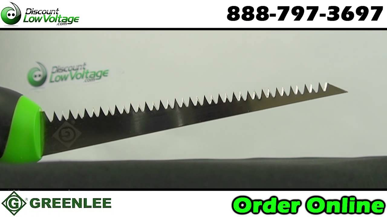 Greenlee 301A Key Hole Saw Ergonomic Handle 6/""