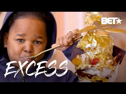 Pio's $1,000 Golden Opulent Ice Cream Sundae from Serendipity NYC | Excess w/ Pio
