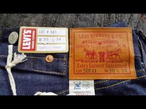 LEVI'S 501 LVC 1933 vs LEVI'S 501 LVC 1947