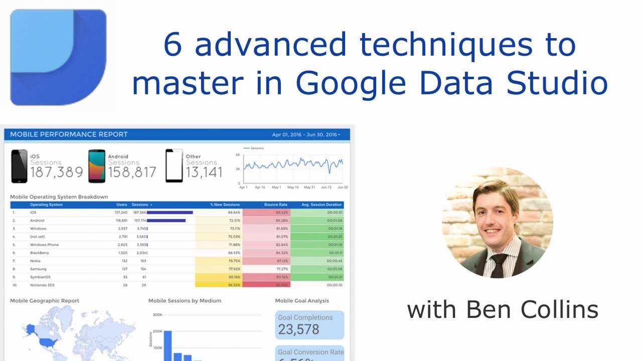 6 advanced techniques to master in Google Data Studio
