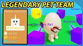 Quelle est la puissance des animaux de compagnie légendaires dans Roblox Egg Simulator