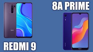 Xiaomi Redmi 9 vs Honor 8A Prime. Сравним!