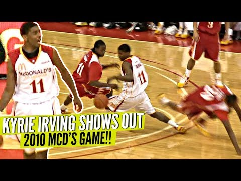 a427fe0aedb Young Kyrie Irving BREAKING ANKLES at 2010 McDonald s All American Game!
