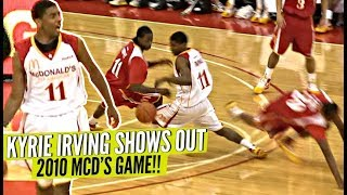 Young Kyrie Irving BREAKING ANKLES at 2010 McDonald