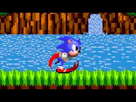 Wallpaper Engine Sonic Running Through Green Hill Zone Youtube