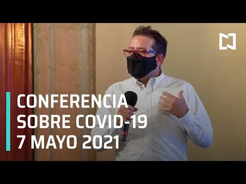 Informe Diario Covid-19 en México - 7 Mayo 2021