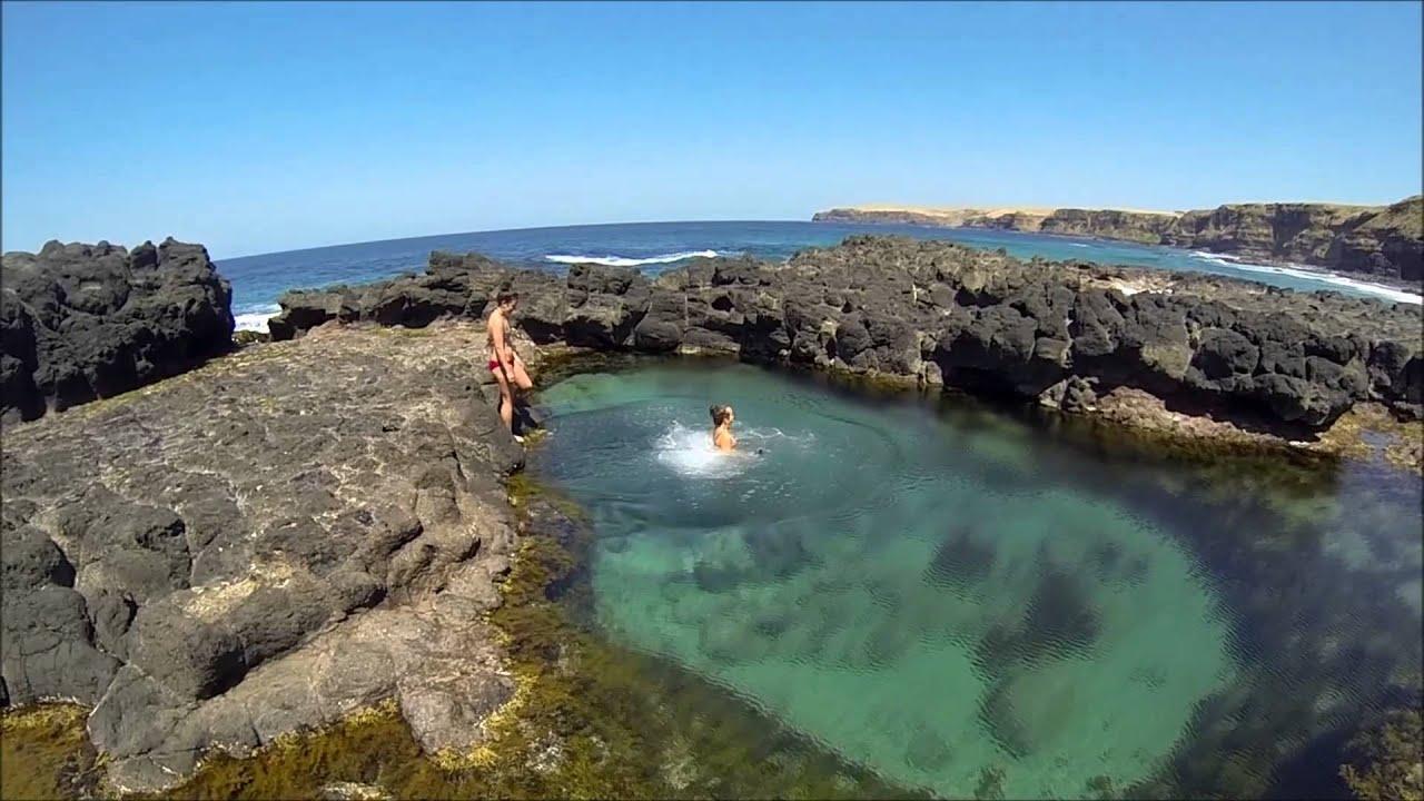 Snorkelling Flinders Rockpools Youtube
