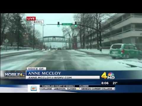 March 5, 2015 Snow Coverage (WSMV Nashville)