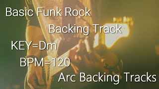 Basic Funk Rock Baking Track in Dm BPM=120