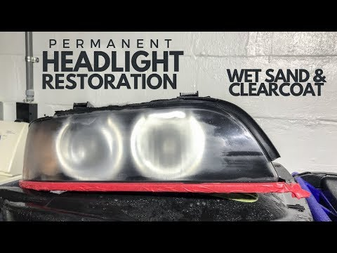 The PROPER Way to Refinish Headlights: E39 M5