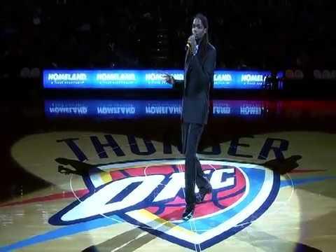 Landau Eugene Murphy Jr. halftime performance - Oklahoma City Thunder vs. Toronto Raptors