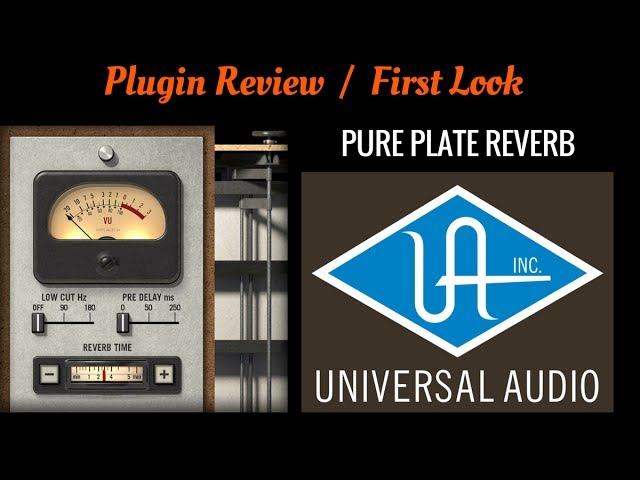 Pure Plate Reverb