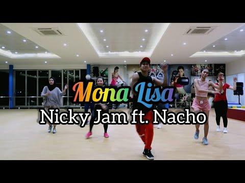 Nicky Jam Nacho - Mona Lisa  ZUMBA  FITNESS  At Global Sport Balikpapan