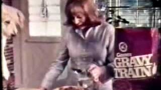 VINTAGE 70'S GRAVY TRAIN DOG FOOD COMMERCIAL W JUNE LOCKHEART