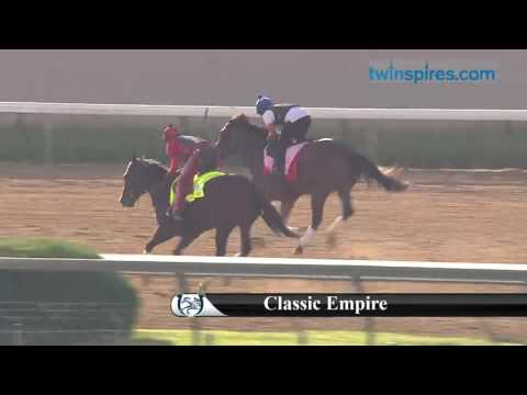 Classic Empire gallop 4.26