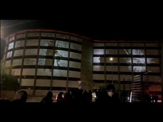 Legame @ RGB LIGHT FESTIVAL . Rampa Prenestina . Rome 2020