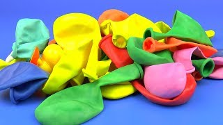 НАЙДИ СЮРПРИЗ ИГРУШКИ Воздушные Шарики Игрушки на Видео для детей Air Balloons Hide & Seek Surprise