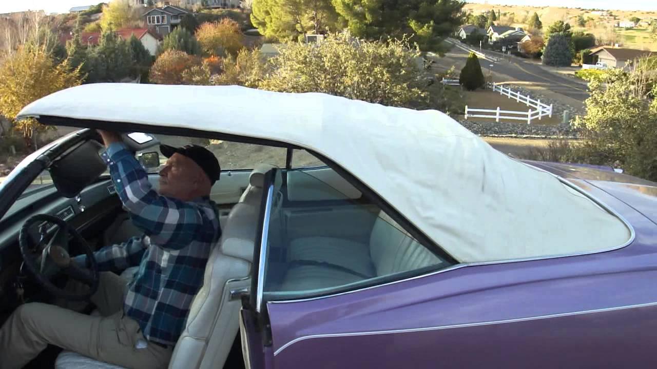 1974 Cadillac Eldorado Convertible Autos Car For Sale in Mayer