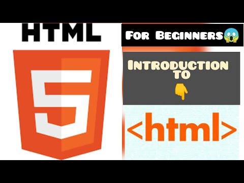 HTML Introduction|HTML Course For Absolute Beginners|Tech Hridi