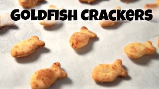 DIY GOLDFISH Crackers Recipe  - You Made What?!