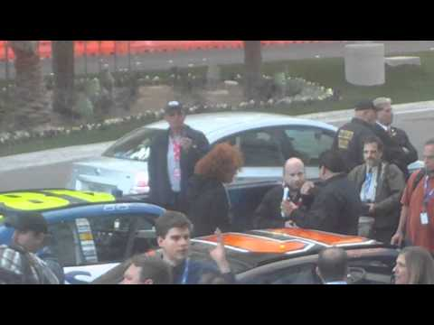 Carrot Top at  Nascar Championship Week in Las Vegas