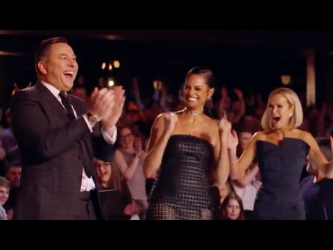 DAVID GOLDEN BUZZER | Britain's Got Talent 2017