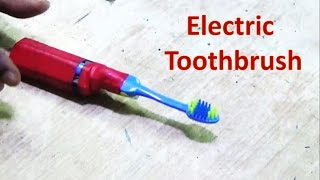 How to make a vibration type electric toothbrush
