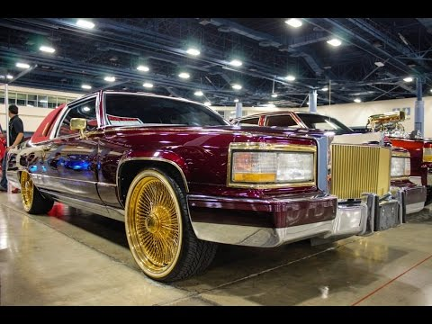 Cadillac Fleetwood Brougham On Gold Daytons Wow In Hd Youtube