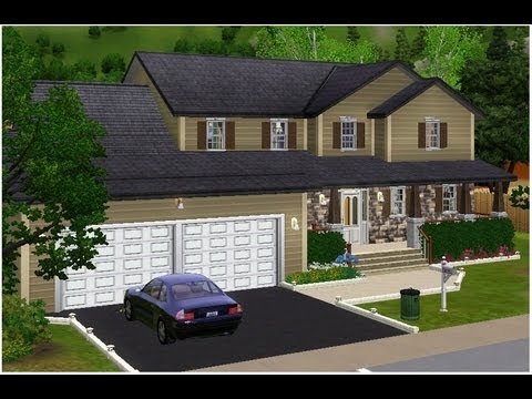 The sims 3 home building prosian hill 85 download for Sims 3 family home ideas