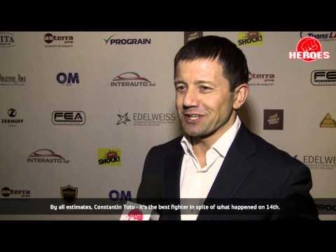 Gala K-1 Republica Moldova interview with Dorin Damir