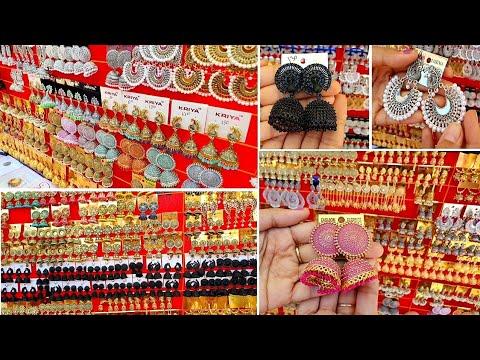 Download Low cost Latest Jhumka designs / Artificial Jhumka Design/ Earrings & Jhumkas/