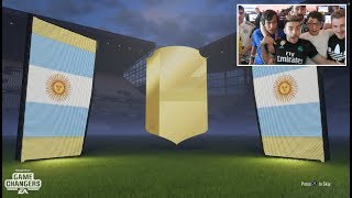 FIFA 18 | 10 CAMINANTES EN MI PRIMER PACK OPENING !!