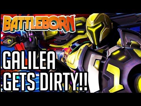 GALILEA GETS DIRTY!! Battleborn Gameplay Walkthrough - Single Player Campaign (1080p 60fps HD)