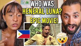 FOREIGNERS Reacting to HENERAL LUNA Official Trailer (Great FILIPINO MOVIE!)