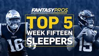 Top 5 Sleepers Starts (Week 15 Fantasy Football)