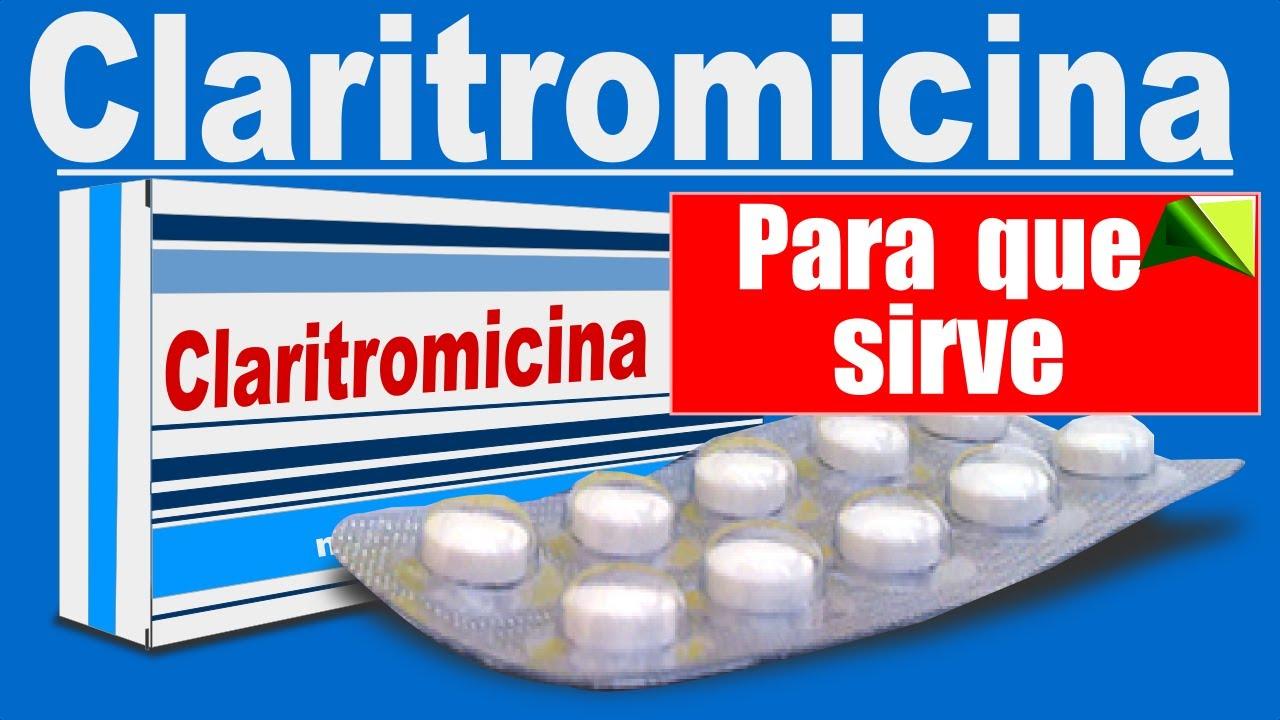 Claritromicina Trata Infecciones Para Que Sirve Que Dato