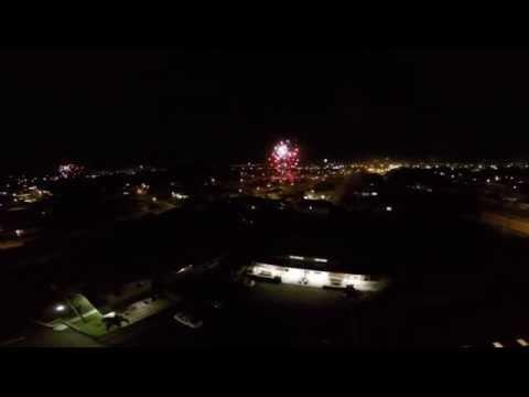 Fireworks Over Kaneohe, Hawaii
