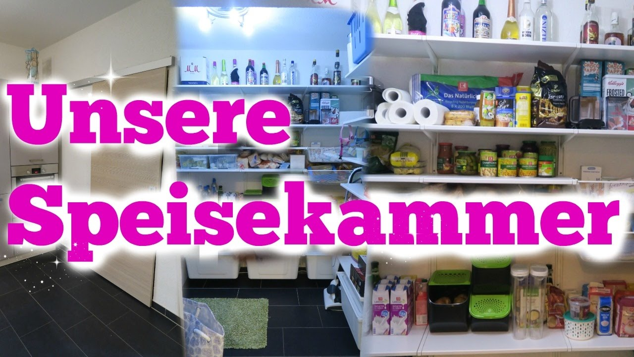 unser haus vlog speisekammer roomtour youtube. Black Bedroom Furniture Sets. Home Design Ideas