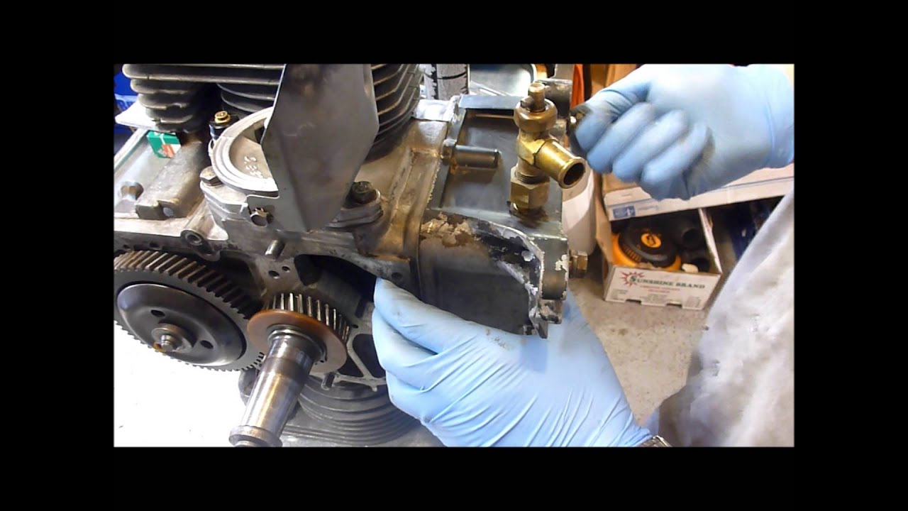 rebuilding an onan b43g part 9 oil system parts [ 1280 x 720 Pixel ]