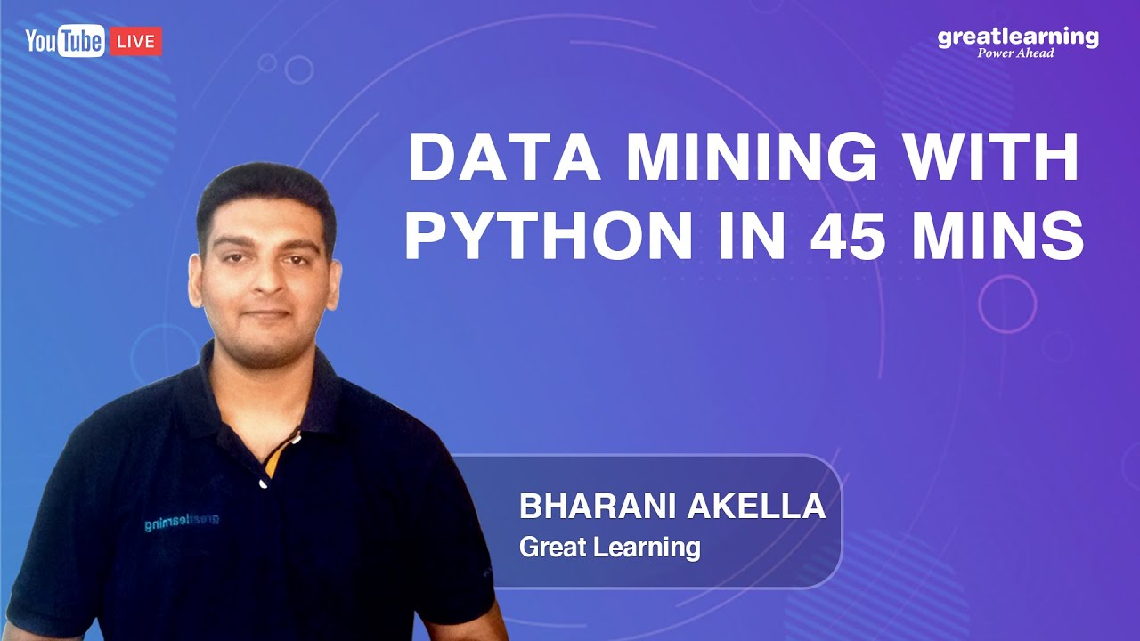 Data Mining with Python in 45 mins | Data Mining Tutorial for Beginners