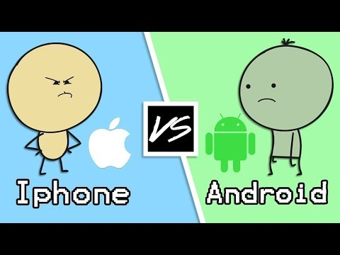Андроид VS Айфон [Cheetoh Studios]