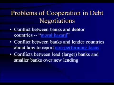 Debt Crisis: Origins and Consequences