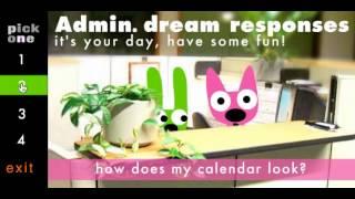 hoops&yoyo dream responses Admin Professionals Day
