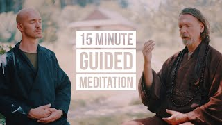 Take a break for a 15 Minute Guided ZEN Meditation