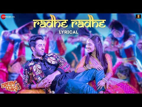 Radhe Radhe - Lyrical | Dream Girl | Ayushmann Khurrana, Nushrat Bharucha | Meet Bros Ft.Amit Gupta